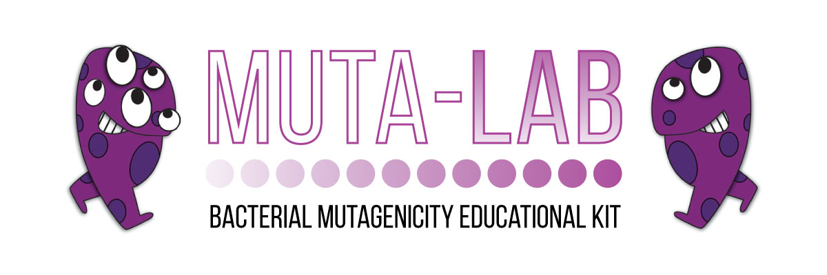 muta lab bacterial mutagenicity educational kit logo