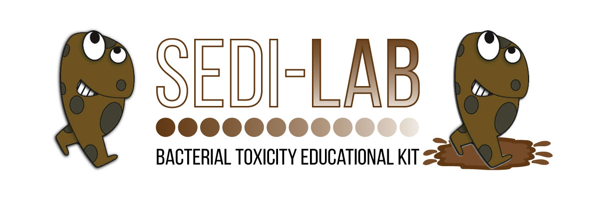 sedi lab bacterial toxicity educational kit logo
