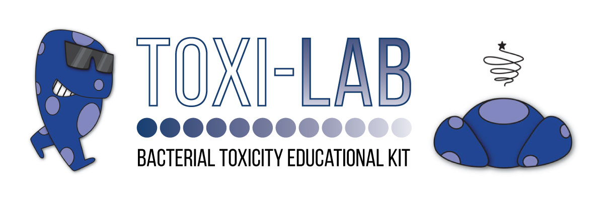 toxi lab bacterial toxicity educational kit logo